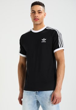 adidas Originals - 3 STRIPES TEE UNISEX - T-shirt print - black