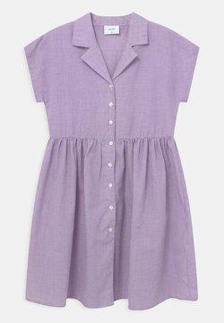 Grunt - JANE CHECK  - Blusenkleid - light purple
