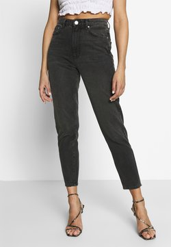 Gina Tricot - DAGNY HIGHWAIST - Jeans Relaxed Fit - black grey