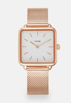 Cluse - LA TETRAGONE - Rannekello - rose gold-coloured/white