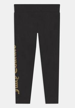 Juicy Couture - JUICY LOGO PRINT - Leggingsit - jet black