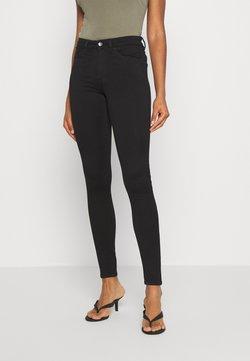 Monki - DELUXE - Jeans Skinny Fit - black dark quick rinse