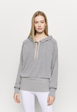 Free People - READY GO HOODIE - Jersey con capucha - grey combo