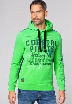 Camp David - Kapuzenpullover - neon green