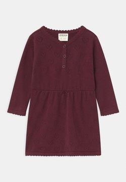 Jacky Baby - CLASSIC GIRLS - Gebreide jurk - waldfrucht