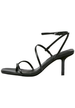 PULL&BEAR - High Heel Sandalette - black