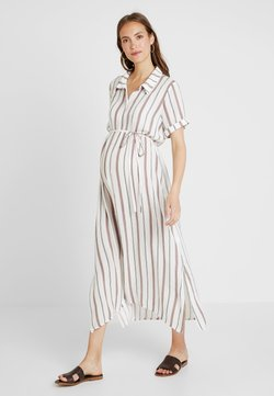Glamorous Bloom - SHORT SLEEVE MIDI DRESS WITH BELT - Blousejurk - white