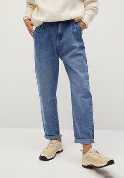 Mango - LOOSE2 - Straight leg jeans - mittelblau