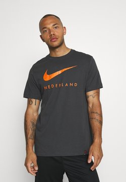 Nike Performance - NIEDERLANDE TEE GROUND - Squadra nazionale - anthracite