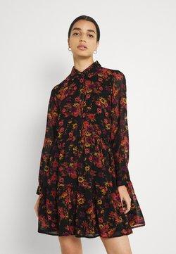Molly Bracken - LADIES WOVEN DRESS - Kjole - windflowers black