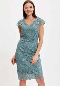 DeFacto - Cocktailkleid/festliches Kleid - turquoise