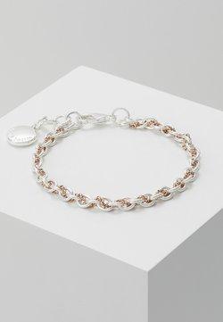 SNÖ of Sweden - SPIKE SMALL BRACE - Bracelet - silver-coloured/roségold