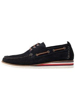 Tommy Hilfiger - Chaussures bateau - blue