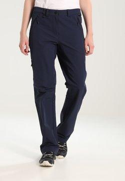 Jack Wolfskin - ACTIVATE WOMEN - Pantalones montañeros largos - midnight blue