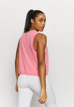 Free People - WASHED LOVE TANK ACID - Top - mottled pink