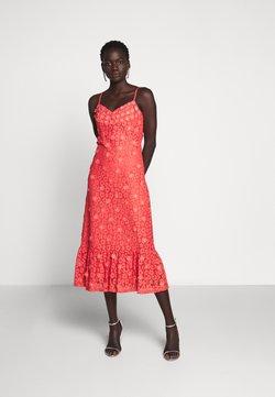 MICHAEL Michael Kors - FLORAL DRESS - Vestido de cóctel - coral peach
