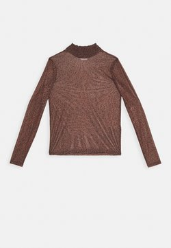Vila - VIVOLETTE  - Bluse - brown/black