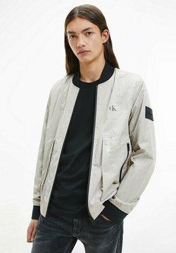 Calvin Klein Jeans - Giubbotto Bomber - off-white