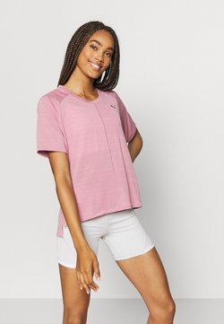 Puma - STUDIO RELAXED TEE - T-shirt de sport - foxglove heather