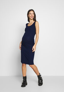 Envie de Fraise - KIZOMBA TANK MATERNITY DRESS - Jerseykleid - navy blue