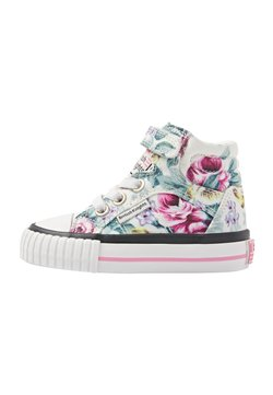 British Knights - DEE - Sneaker high - white flower