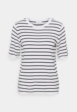 Kaffe - KAMALA - T-Shirt print - chalk/black