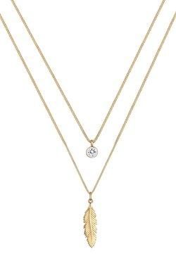 Elli - GLASS CRYSTAL - Halskette - gold-coloured