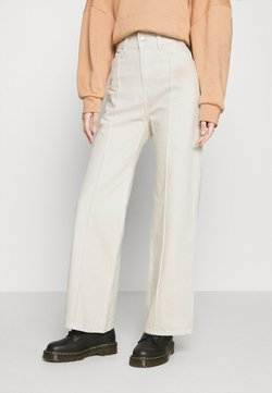 Weekday - NELLIE TROUSER - Jeans relaxed fit - tinted ecru