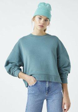 PULL&BEAR - Sweater - green