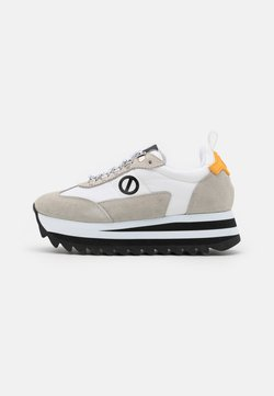 No Name - FLEX RIPPLE - Sneakers laag - white/yellow