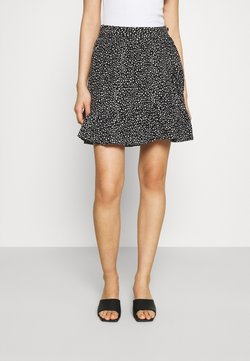 Vero Moda - VMDICTHE SHORT WRAP SKIRT - Wickelrock - black