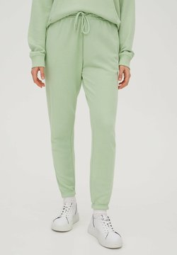 PULL&BEAR - Jogginghose - mottled light green