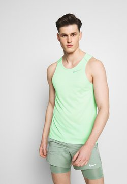 Nike Performance - RISE TANK - Sports shirt - pistachio frost
