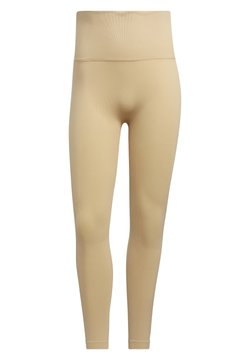 adidas Performance - SCULPT  - Tights - beige