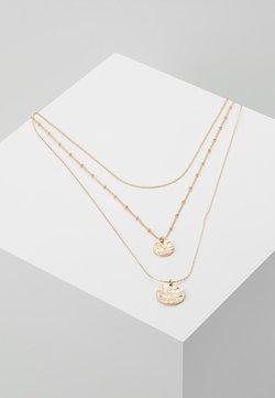 Pieces - PCEIDA COMBI NECKLACE KEY - Necklace - gold-coloured