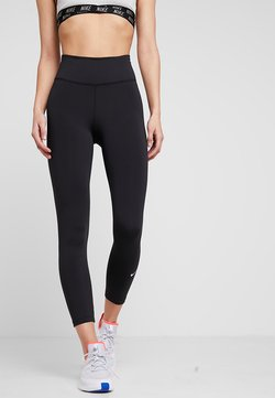 Nike Performance - ONE CROP - Trikoot - black/white
