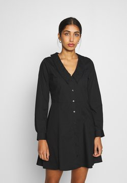 Monki - NOOMI DRESS - Blusenkleid - black
