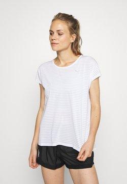 Puma - BE BOLD TEE - Camiseta estampada - white