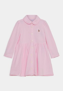 Polo Ralph Lauren - SOLID DRESS - Vestido camisero - carmel pink