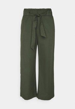 Marc O'Polo DENIM - THE CULOTTE - Spodnie materiałowe - deep depth