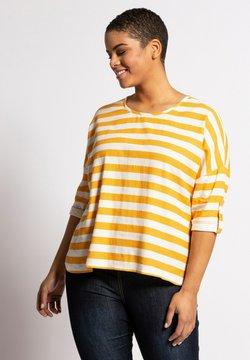 Ulla Popken - Langarmshirt - light yellow