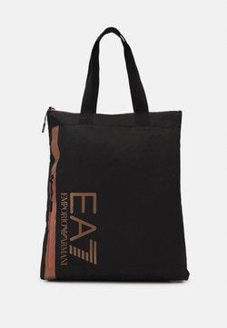 EA7 Emporio Armani - UNISEX - Tote bag - black/rose gold