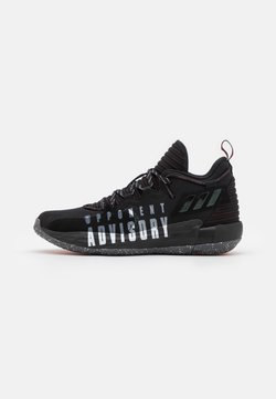 adidas Performance - DAME 7 EXTPLY BASKETBALL LILLARD LIGHTSTRIKE SHOES MID - Chaussures de basket - core black/footwear white/vivid red