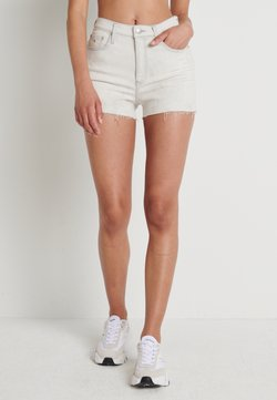Calvin Klein Jeans - HIGH RISE SHORT - Jeansshort - bleach grey