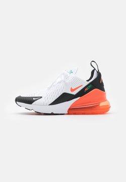 Nike Sportswear - AIR MAX 270 - Sneakersy niskie - white/turf orange/stadium green/black