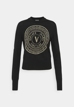 Versace Jeans Couture - KNITWEAR - Maglione - black