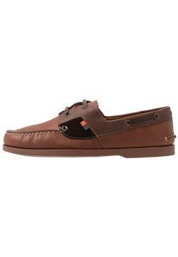 Frank Wright - DRACO - Chaussures bateau - tan/brown