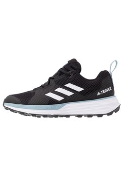 adidas Performance - TERREX TWO - Chaussures de running - core black/footwear white/ash grey