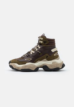 HUGO - ATOMIC - Sneaker high - open brown