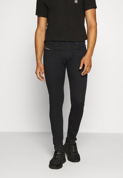 Diesel - D-STRUKT - Slim fit -farkut - black denim
